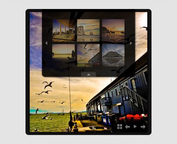 Minimalistic Slideshow Gallery