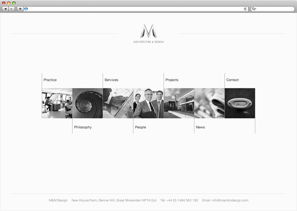 M&M Architects homepage